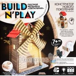 Конструктор нового покоління Danko toys BUILDNPLAY Млин