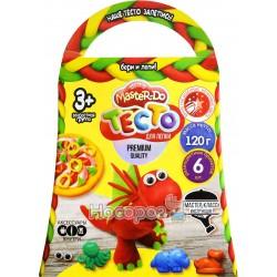 """Набор креативного творчества Danko toys """"Тесто для лепки MASTER DO"""" Комильфо 6 цветов"""