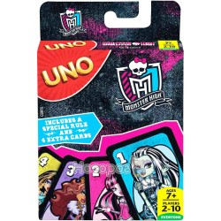 "Игра UNO MATTEL ""Monster High"" обновлена"