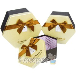 Набор подарочных коробок 36-3А-1 - Шестигранник