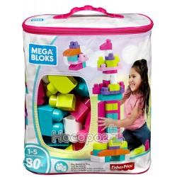 Конструктор Mega Bloks розовый в мешке