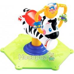 Музыкальная качалка Fisher-Price зебра «Родео» K0317