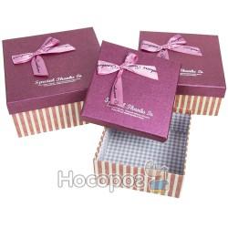 Набор подарочных коробок 36-3А-1 - Квадраты