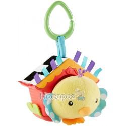 """Мягкая игрушка-подвеска Fisher-Price """"Птенец в скворечнике"""""""