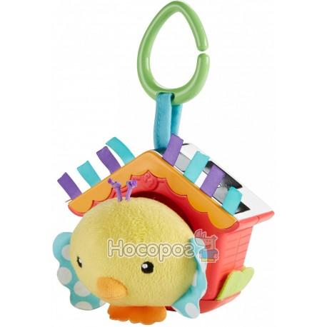 """Фото Мягкая игрушка-подвеска Fisher-Price """"Птенец в скворечнике"""""""