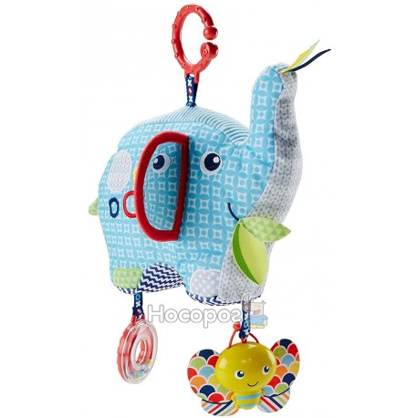 "Фото Мягкая игрушка-подвеска Fisher-Price ""Слоненок"""