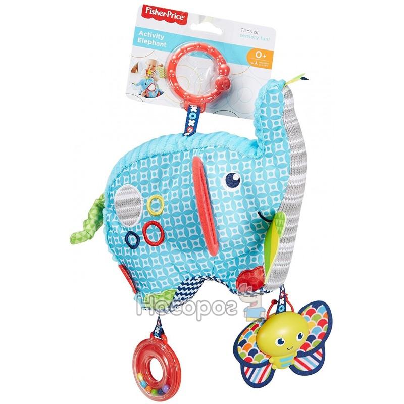 Мягкая игрушка слоненок Peppa Pig Эмили с мышкой 20 см сиреневый текстиль 29623
