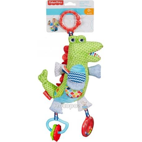 "Фото Мягкая игрушка-подвеска Fisher-Price ""Крокодил"""