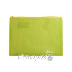 Конверт на молнии матовый А4 BM 3951-05 желтый