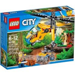 """Конструктор LEGO """"Джунгли: грузовой вертолет"""" 60158"""