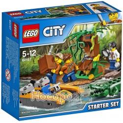 """Конструктор LEGO """"Джунгли: стартовый набор"""" 60157"""