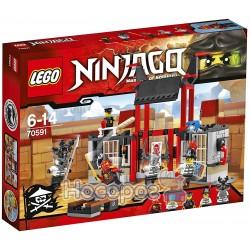 """Конструктор LEGO 70591 """"Побег из тюрьмы"""" Криптариум """""""