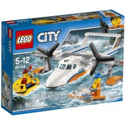 """Конструктор LEGO City """"Спасательный гидроплан"""" 60164"""