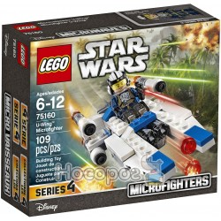 Конструктор LEGO Star wars Microfighter «Ю-Винг» 75160
