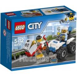 """Конструктор LEGO Citi """"Арест на вездеходе"""" 60135"""