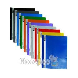 Швидкозшивач з прозорим верхом А4 4Office 4-240 синій