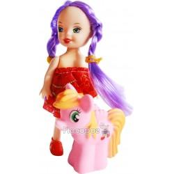 Кукла маленькая с пони 555A1 3