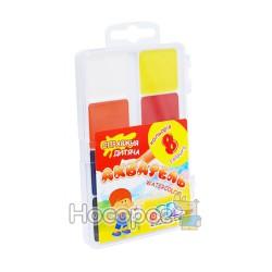 Краски Акварель Гамма 8 цв (пластик) 312042