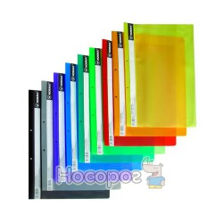 Скоросшиватель с прозрачным верхом глянцевый А4 NORMA 5262 салатовый