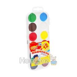 Краски Акварель Гамма 12 цв (пластик) 312046