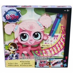 """Игровой набор Hasbro Littlest Pet Shop """"Укрась животное"""" B0033EU4"""