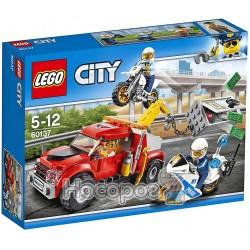 """Конструктор LEGO City """"Проблемы с аварийной грузовиком"""" 60137"""