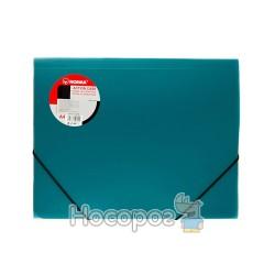 Папка на резинке А4 NORMA 5260 зеленая