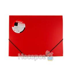 Папка на резинках А4 NORMA 5260 красная
