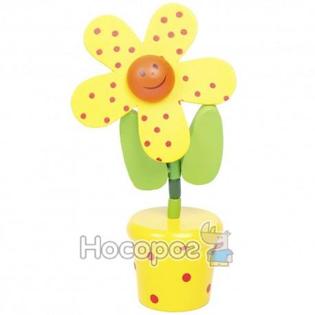 Фото Дерев'яні маріонетки W02-3065 квіти, 10 видів (600)