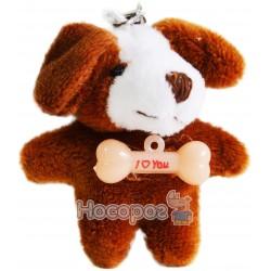 Мягкая игрушка-брелок собачка B24372