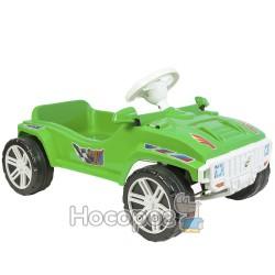 Машинка для катания ПЕДАЛЬНАЯ зеленая