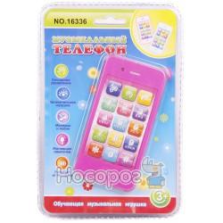 Телефон мобильный 16336 муз. свет, сенсор. экран (240)