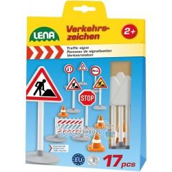 Игровой набор Дорожные знаки Lena 4440