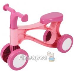 Мій перший скутер Lena рожевий