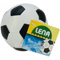 Мяч мягкий Lena футбольный