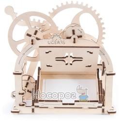 Механічні 3Д пазли модель для візиток, Ukrainian Gears 70002