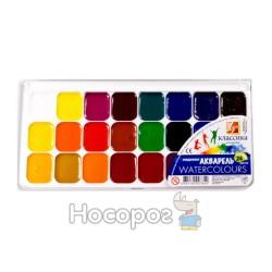Краски Акварель Луч Классика 24 цв пластик