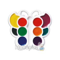 Краски Акварель Луч Бабочка 10 цв пластик