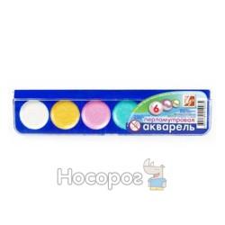 Краски Акварель Луч Перламутровая 6 цв пластик