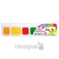 Краски Акварель Луч Зоо Mini 6 цв пластик