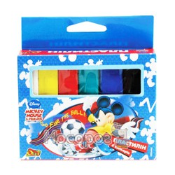 Пластилин Olli Mickey Mouse 6 цв.