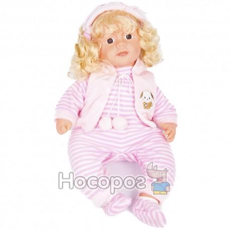 Кукла 666725 музыкальная в рюкзаке 61см