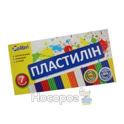 Пластилин Мицар Colibri 7 цв 300 г 123001