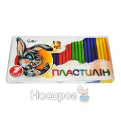 Пластилин Мицар Гавчик и Мурчик 7 цв 300 г