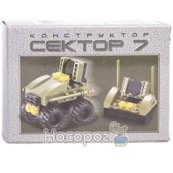 """Конструктор 80002/65166R """"Cектор 7"""" 40 дет. (360)"""