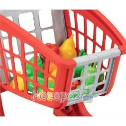 Тележка для супермаркета Ecoiffier с продуктами питания