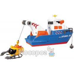 Исследовательский лодка с субмариной Dickie Toys