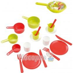 Набор посуды в сковороде Ecoiffier