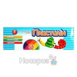 """Пластилин Тетрада """"Зайчик/Улитка/Собачки"""" 8 цв."""
