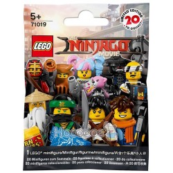 Конструктор THE LEGO NINJAGO MOVIE Minifiguren 71019 (От 5 лет)1019